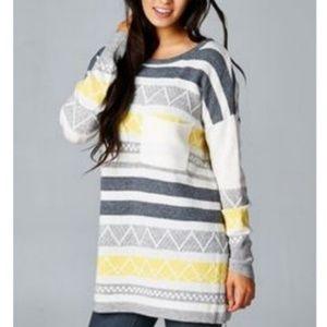 Lovestitch Angora Wool Blend No Sunshine Sweater